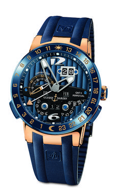 www.watchtime.com | watches | Boutique Exclusive Ulysse Nardin Blue Toro Debuts | UN BlueToro2 460 - awesome looking mens watch.