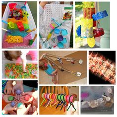 sensory table ideas and other preschool things
