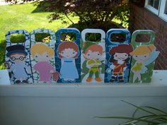 Peter Pan and Friends Inspired Favor Boxes Set of 12