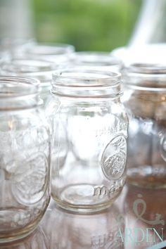 There's nothing like mason jars to add a little southern flair to your wedding!