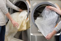 12 Magical Things You Can do When You Mix Baking Soda and Vinegar. Shower curtain idea!