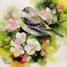 Apple Blossoms - Original Fine Art for Sale - © Paulie Rollins
