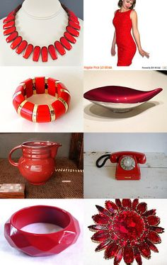 Really Red! by STOLA Saluki Rescue on Etsy--Pinned with #voguet TreasuryPin.com