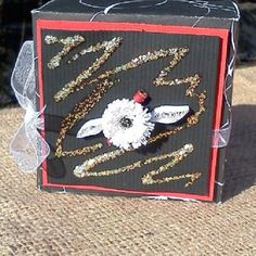 Giftgiving box Jewelry box Trinket Box by papercraftersnook, $5.00