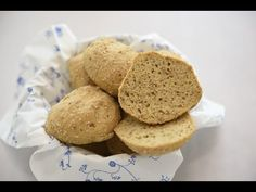 Coarse Gluten-free Buns - easy to make