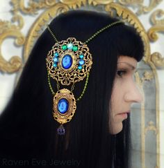 Hey, I found this really awesome Etsy listing at http://www.etsy.com/listing/162280737/art-nouveau-mucha-headdress-exclusive-by  ♥~Really, pretty ! If you like thus style,.. then you've git to browse this site!