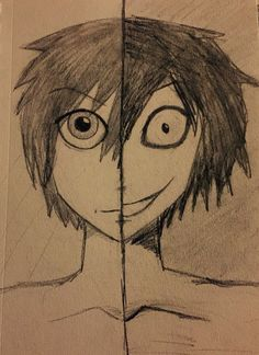 Jeff The Killer, I scribbled this up last weekend. Kinda messy, like everything else I draw