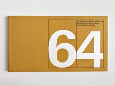 Graphics we like / Layout / Number / White / 64 / Brown Paper / at inspiration
