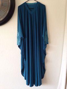 BRAND NEW Dubai Butterfly Kaftan Fancy Abaya Jilbab Maxi Dress #Handmade #AbayaDress #Casual