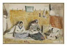 Album de voyage au Maroc, Espagne, Algérie - Eugene Delacroix