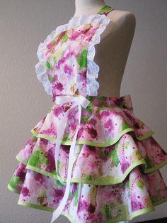 vintage inspired apron