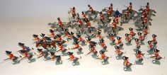 Britains Toys, Dam Construction, Battle Of Waterloo, The Saleroom, Toy Soldiers, British, Sea, History, Vintage