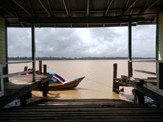 Fort Island Dock, Essequibo.
