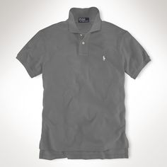 Polo Ralph Lauren Big and Tall Classic-Fit Short-Sleeved Cotton Mesh Polo   db9b5801cffb