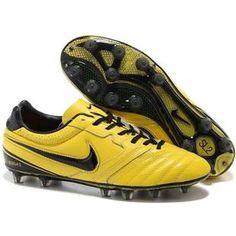 http://www.asneakers4u.com/ Nike Tiempo Super Ligera II FG Firm Ground Football Shoes In Yellow Black Metallic Gold