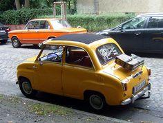 Goggomobil ... reisefertig :-)) by bayernernst, via Flickr