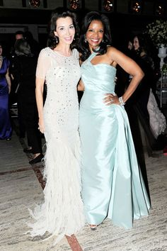 FE FENDI AND PAMELA JOYNER at the New York City Ballet Spring Gala - Pictures from New York City Ballet Spring Gala 2012 - Harper's BAZAAR