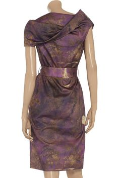 Vivienne Westwood Anglomania Cylinder printed cotton dress - Love it all!  Maybe not right for wedding though!