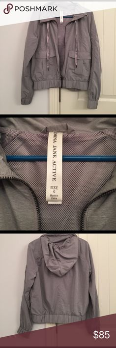Lorna Jane Active Gray Bomber Jacket Hoodie Small This is such a cute Active jacket by Lorna Jane. Quality is similar to Lululemon. It's great for over workout clothes or just a day out! Normally over $150 and this has only been worn 1-3x Lorna Jane Jackets & Coats