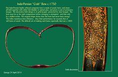 "Indo_Persian ""Crab"" Bow c.1750"