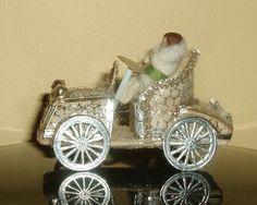 Sebnitz Car I with wax baby. By Betsy Browning.
