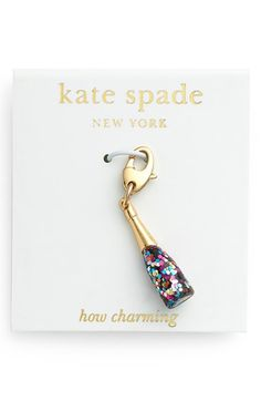 Free shipping and returns on kate spade new york 'how charming' novelty charm at Nordstrom.com. Symbolize a facet of your personality with one of these adorable charms.