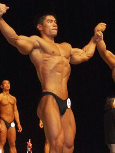 Taku Sasaki (佐々木卓, Japanese Bodybuilder)