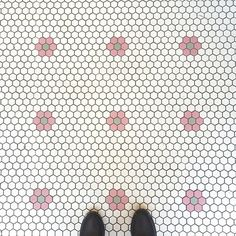 Donuts and floors #havethisthingwithfloors #floorcore #myhappyplace #tile #tileaddiction #tilelove #stansdonuts #floorcorechicago