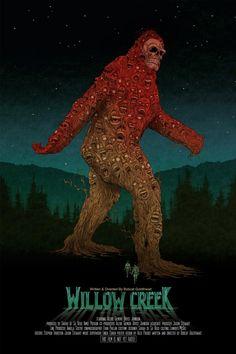 """Great poster for """"Willow Creek"""" (2013, Leigh Janiak). Post: http://malpertuis.org/2014/09/25/aspettando-bigfootot/"""