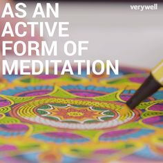 Top 5 Most Refreshing Ideas to Prevent Stress from Controlling You When was the last time you colored in a coloring book? Art therapists recommend coloring for adults as an act of meditation. Meditation Benefits, Daily Meditation, Meditation Practices, Mindfulness Meditation, Meditation Videos, Coloring Book Art, Adult Coloring, Stress Management, Zentangle