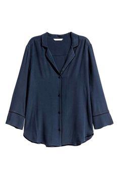 Blusa com decote em V   H&M