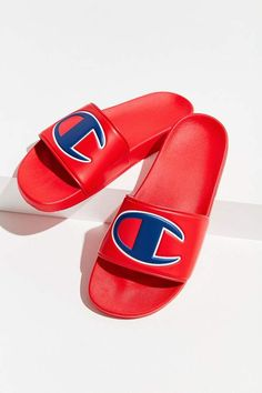 56eca306a5e26 Champion Big C Logo Slide Sandal