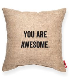 """- Let them know how you feel with this modern """"You Are Awesome"""" keepsake…"""