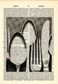 Items similar to Silverware Vintage image dictionary book page collage art print Buy 3 get ANOTHER 1 freeprint print on Etsy Book Page Art, Book Pages, Book Art, Collage Kunst, Art Du Collage, Journal D'art, Journals, Newspaper Collage, Newspaper Painting