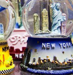 New York City Snowglobes 8x8 Color Fine Art Print