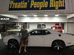 Congratulations Ashley Iles on the purchase of your 2017 Dodge Challenger. We appreciate your business & friendship.