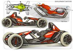 KTM G-Force / Michelin Challenge Design 2015 Finalist / by Jean-Thomas Mayer / ISD