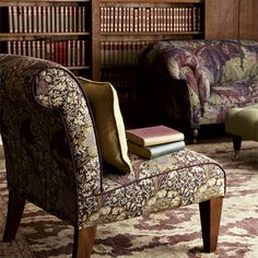 Style Library presents the Archive Prints Collection by Morris & Co. Decor, Craftsman Interior, Home N Decor, William Morris, Fabric Wallpaper, Home Decor, Fabric Design, Prints, Mantle Piece