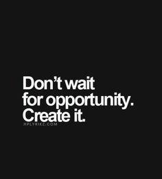 Dont wait...