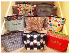 Our Thermal Totes work great for Scentsy consultants to use for their basket parties.