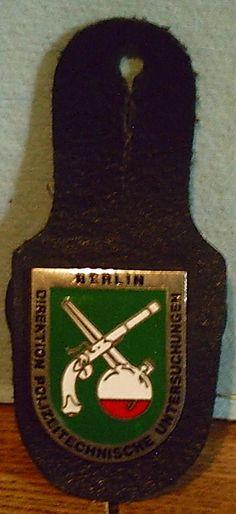 Berlin, Germany Police Badge