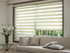 Made to measure Beige Duplex Blinds For your Windows | Bolton Blinds