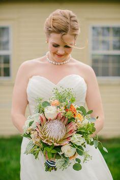 DIY Maine wedding | photo by Emily Delamater | 100 Layer Cake