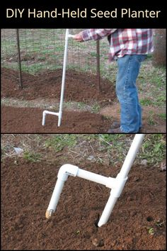 Build A Hand Held Corn And Bean Planter Homesteading The 400 x 300