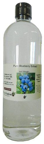 Pure Blueberry Extract 16 oz by OliveNation >>> Learn more by visiting the image link.