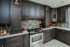 West Point Grey Kitchen Cabinets at Surplus Warehouse