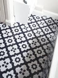Image result for black and white tile pattern lino