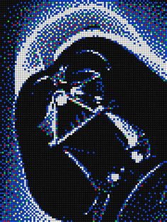 DarthVader - Star Wars with Pixel Art Quercetti