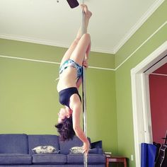 Still working on this static brass monkey to ayesha. #pole #twistedgrip