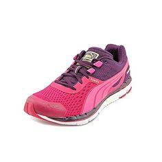 PUMA Women\u0027s Faas 500 V3 Running Shoe,Cerise/Fuchsia/Purple/Purple/